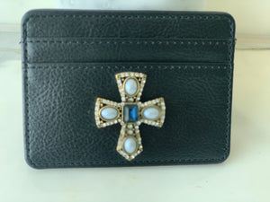 CREDIT CARD HOLDER WITH BLING
