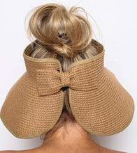 Load image into Gallery viewer, AUDREY ROLL UP SUN HAT