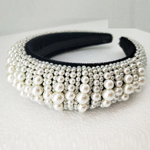 Princess Grace Pearl Headband