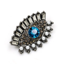Load image into Gallery viewer, EVIL EYE PROTECTION BROOCH
