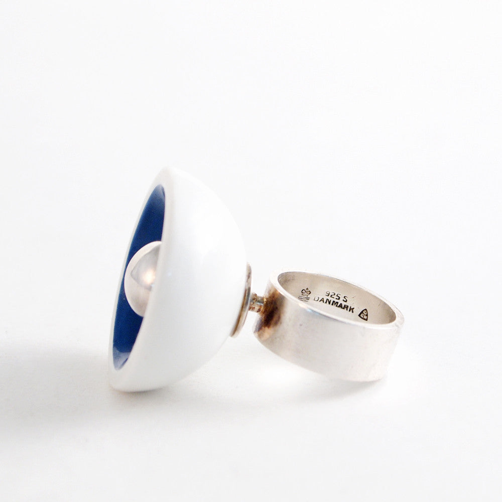 Anton Michelsen Royal Bini Porcelain Ring - Sold - Hopea