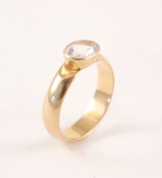"1970s 14k Gold Finnish ""Usva"" Ring - Sold"