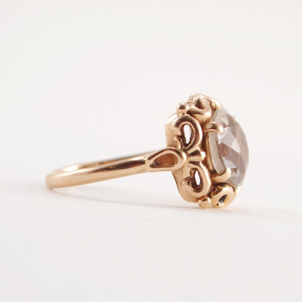 "14k Gold ""Pemka"" Ring - Sold - Hopea"
