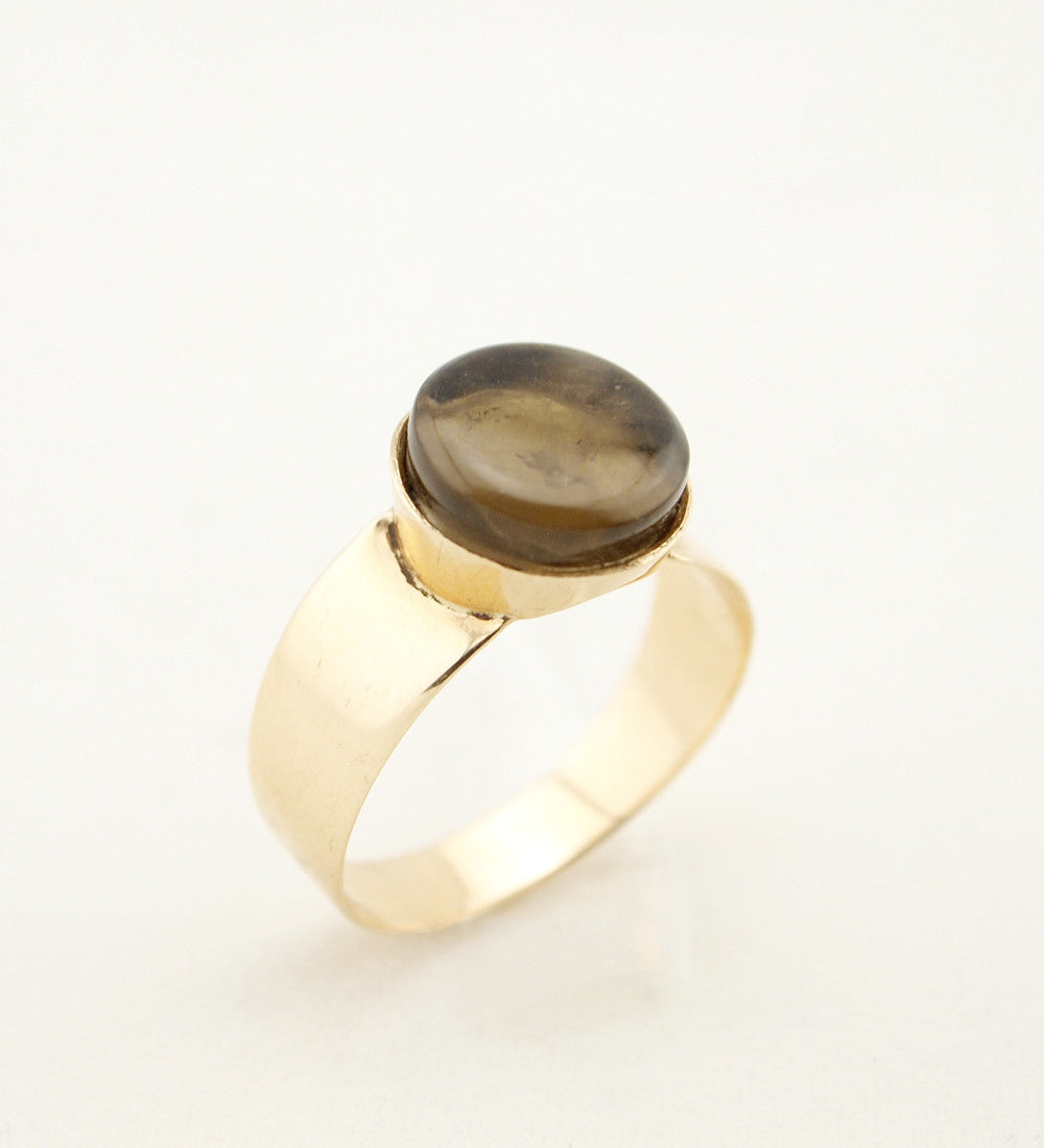 "1960s 14k Gold Finnish ""Leijona"" Ring - Sold - Hopea"