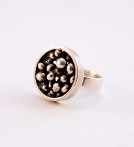 "N.E From ""Pebbles"" Ring - Sold - Hopea"