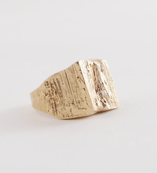 "Gold ""Paksu"" Ring from Finland - Sold"
