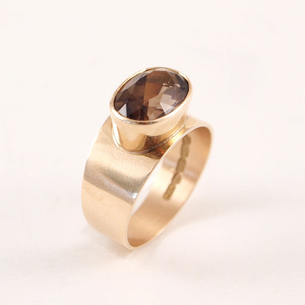 "1960s 14k Gold Finnish ""Uima"" Ring - Sold - Hopea"