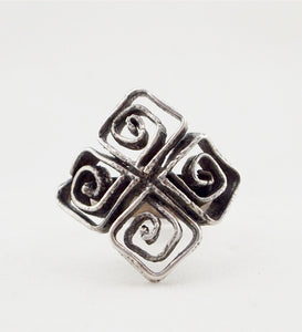 1970s Sterling Silver Erik Granit & Co. Ring - Sold - Hopea