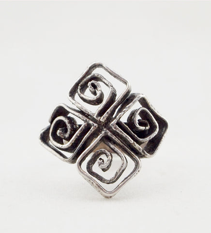 1970s Sterling Silver Erik Granit & Co. Ring