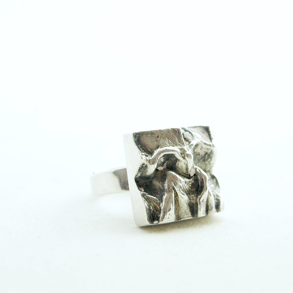 1970s Matti J. Hyvarinen Sterling Silver Ring - Sold - Hopea