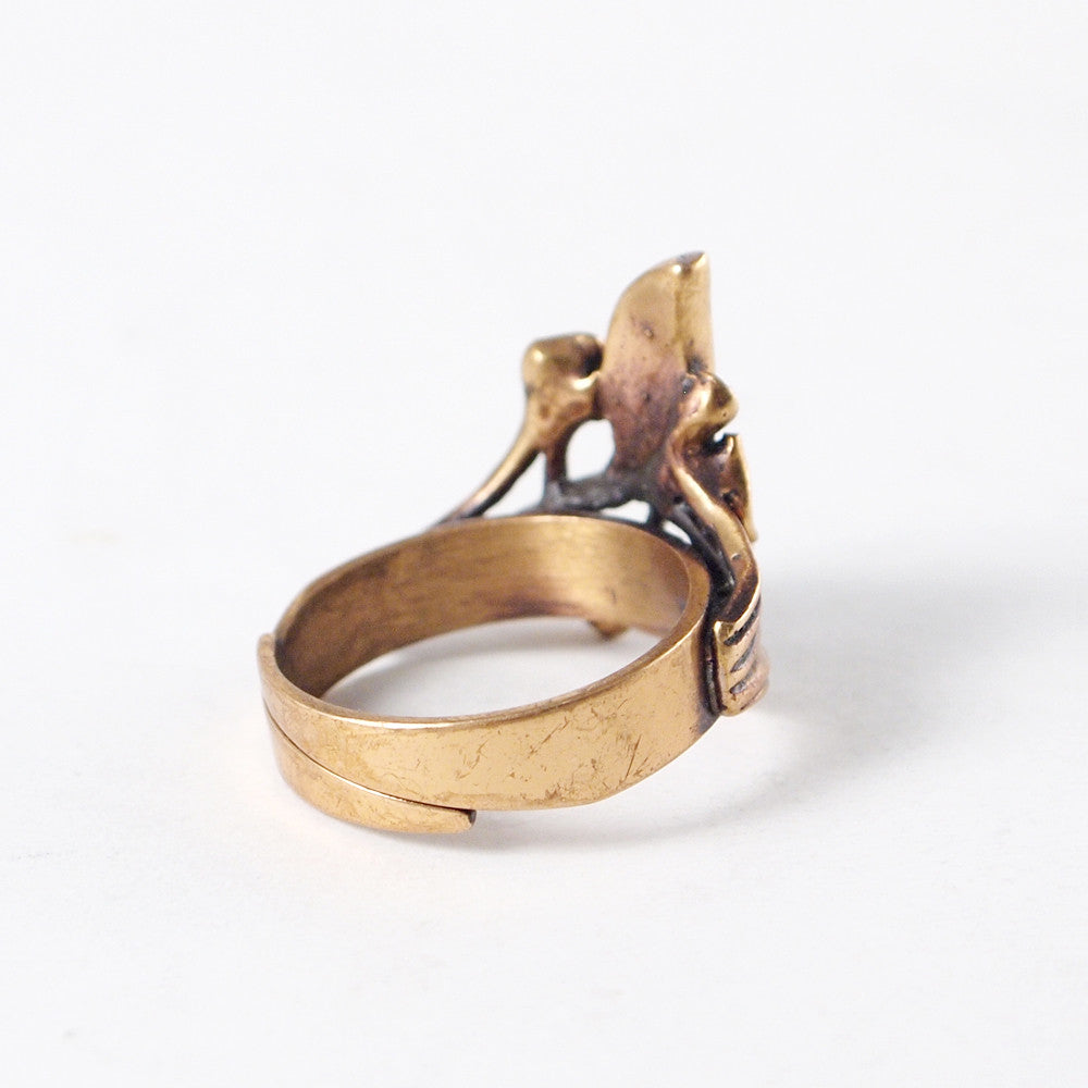 "Hannu Ikonen ""Enamel Moss"" Ring - Sold - Hopea"