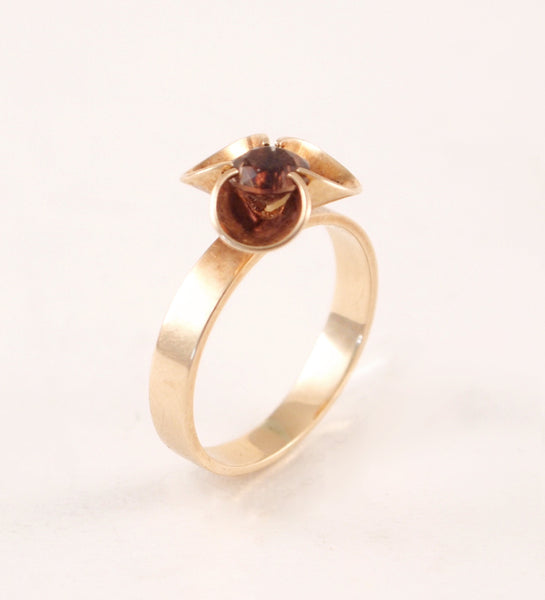 "Kupittaan Kulta 14k Gold ""Helmi"" Ring - Sold"