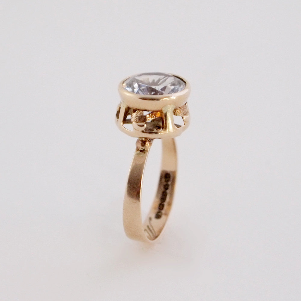 "14k Gold Finnish ""Ylin"" Ring - Sold - Hopea"