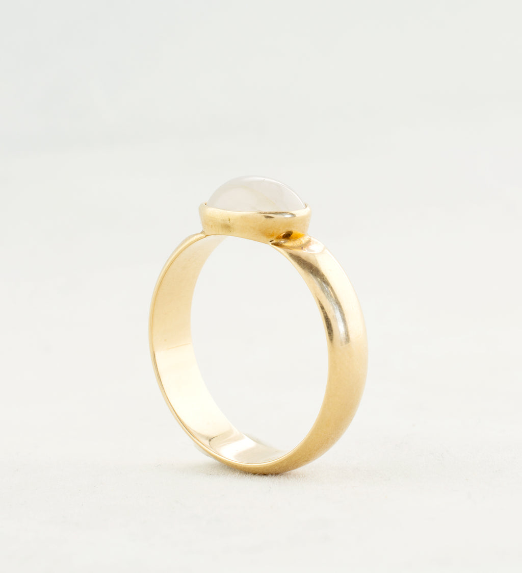 gold and quartz nils westerback ring