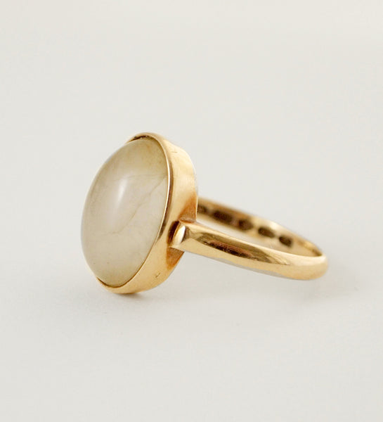 "Nils Westerback 14k Gold ""Hehku"" Ring - Sold"