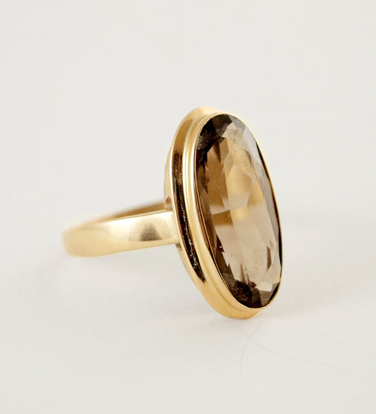 "Finnish 14k Gold ""Kitku"" Ring - Sold"
