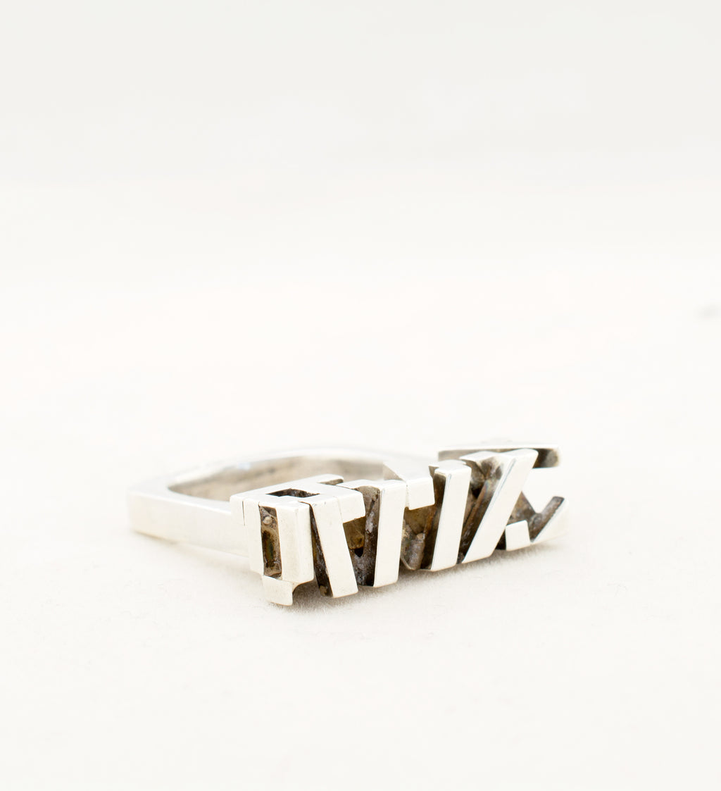 rey urban sterling silver ring