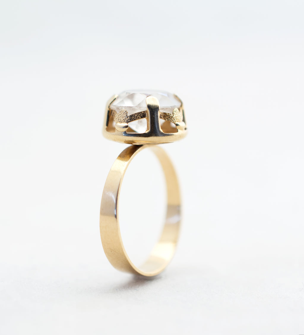 vintage gold ring from finland