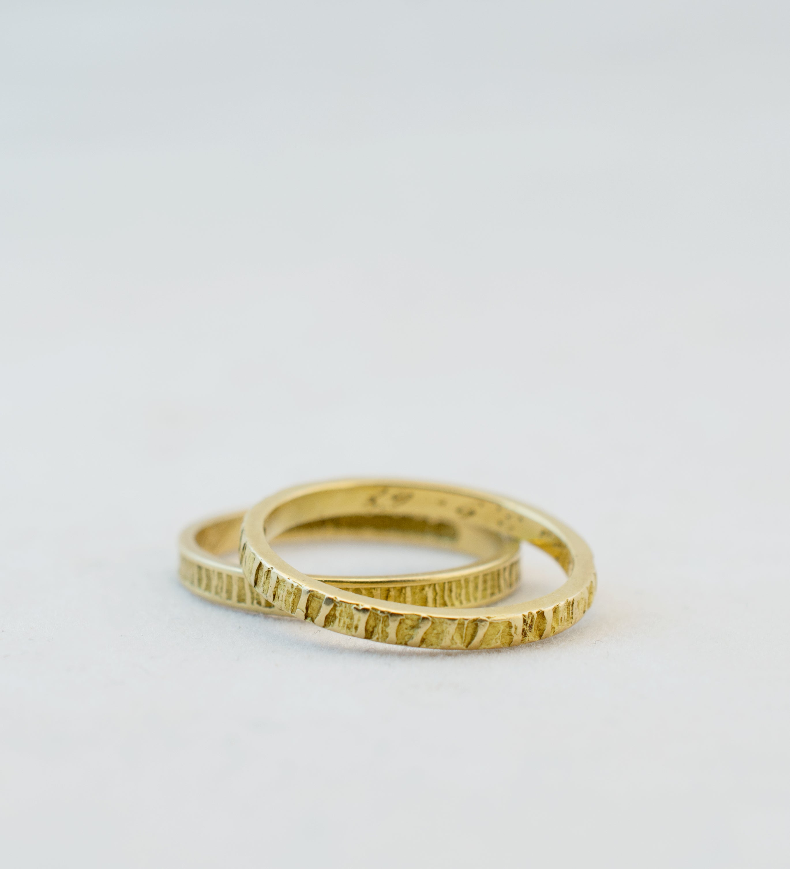 1970s Bjorn Weckstrom 14k Gold Lapland Rings - Sold - Hopea