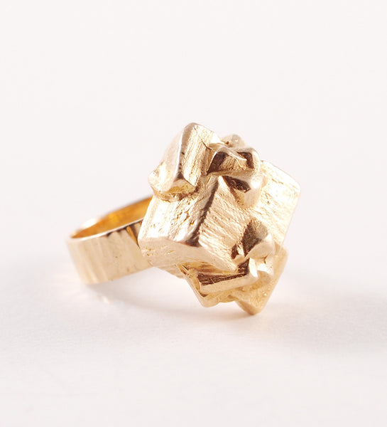 "Bjorn Weckstrom ""Golden Geranium"" Ring - Sold"