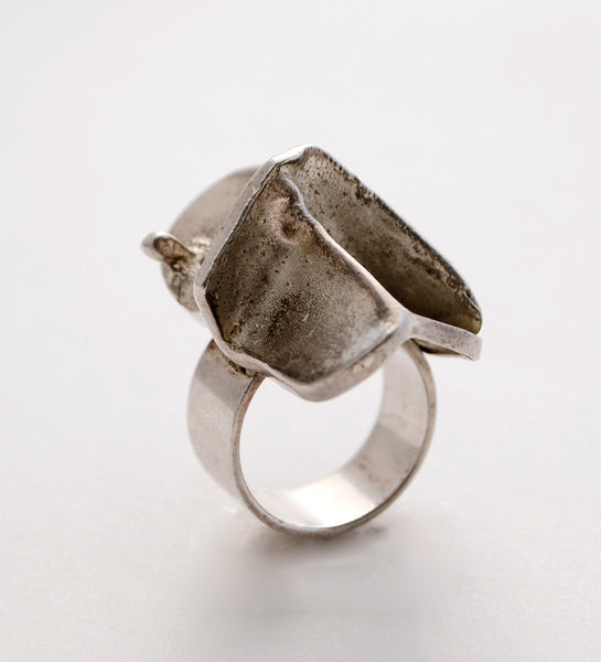 "Bjorn Weckstrom ""Man from Mercury"" Ring - Sold"