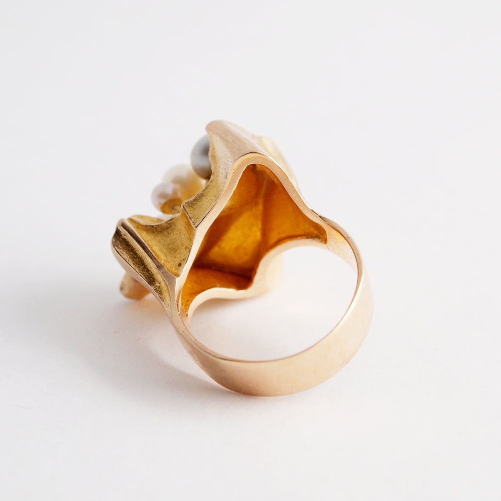 "Bjorn Weckstrom ""Four Winds"" Ring - Sold - Hopea"