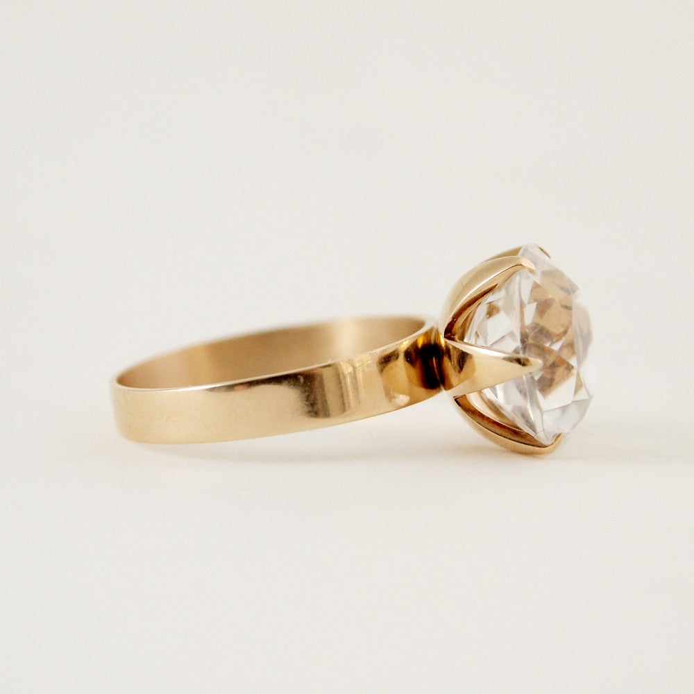 "Nils Westerback 14k Gold ""Timantti"" Ring - Sold - Hopea"