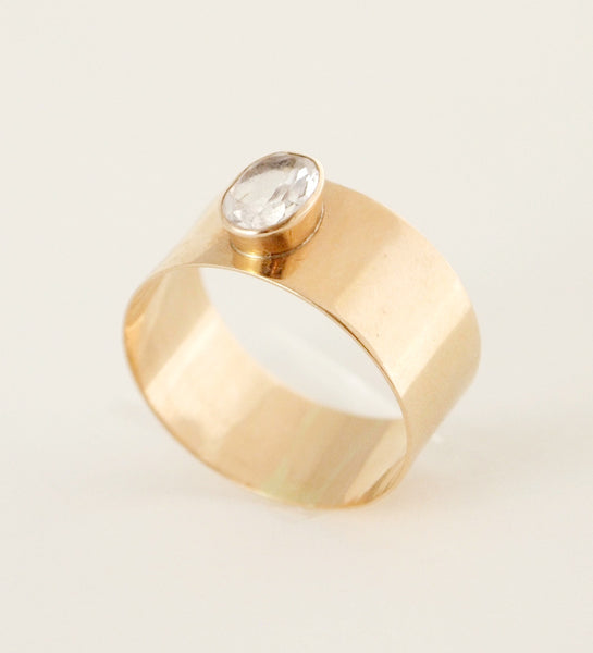 "Finnish 14k Gold ""Valkea"" Ring - Sold"