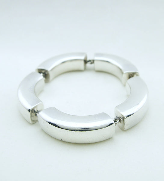 1960s Tulip Bracelet by Astrid Fog for Georg Jensen - Sold