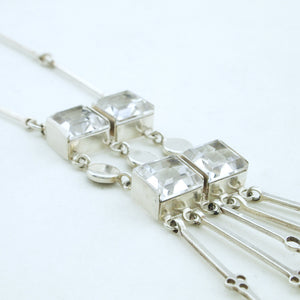 1960s David-Andersen Rock Crystal Necklace - Sold - Hopea