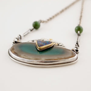 """Luola"" Necklace from Scandinavia - Sold - Hopea"