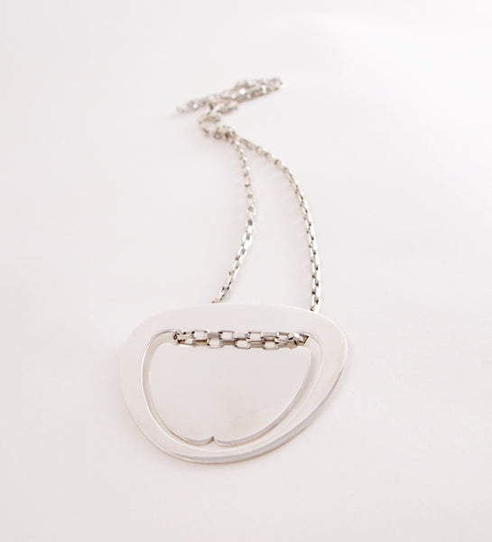 "Theresia Hvorslev ""Platt"" Necklace - Sold"