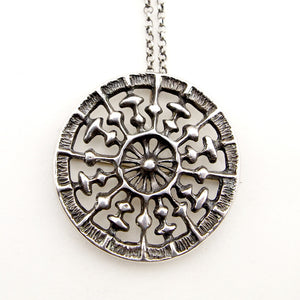 "Uni David-Andersen ""Medallion"" Necklace - Sold - Hopea"