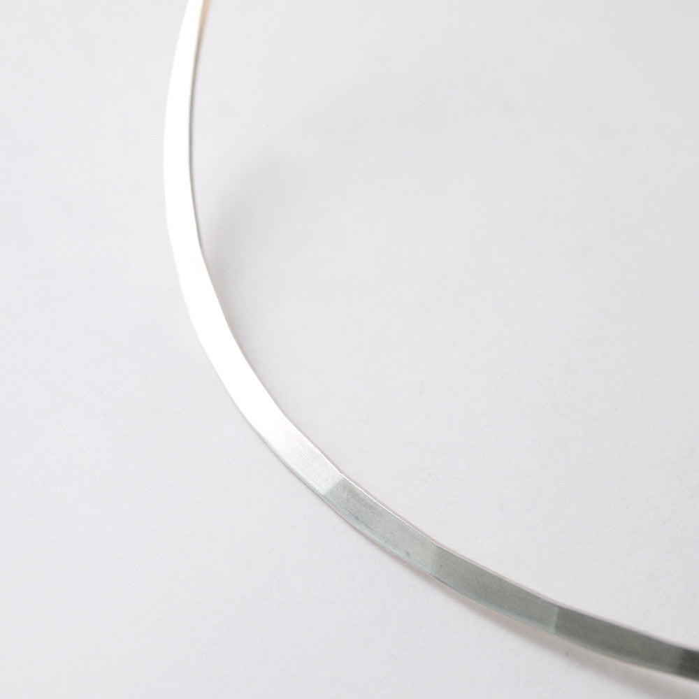 "Marianne Berg for Uni David-Andersen ""Silver Series"" Neck Ring - Sold - Hopea"