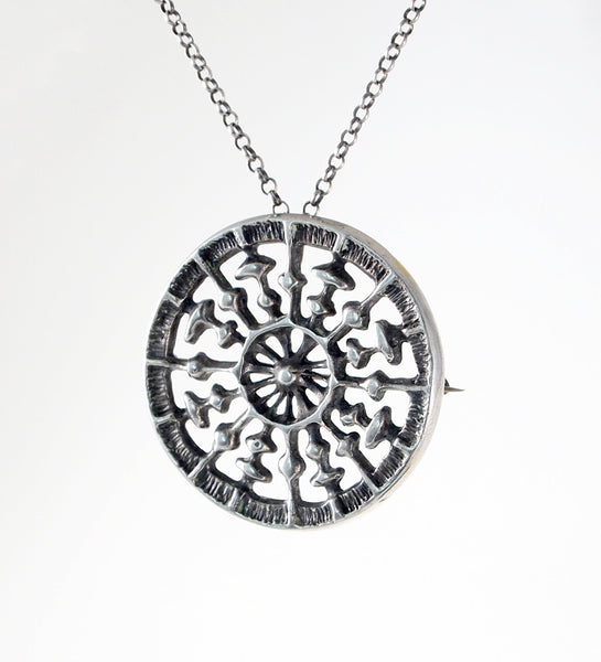 "Uni David-Andersen ""Medallion"" Necklace - Sold"