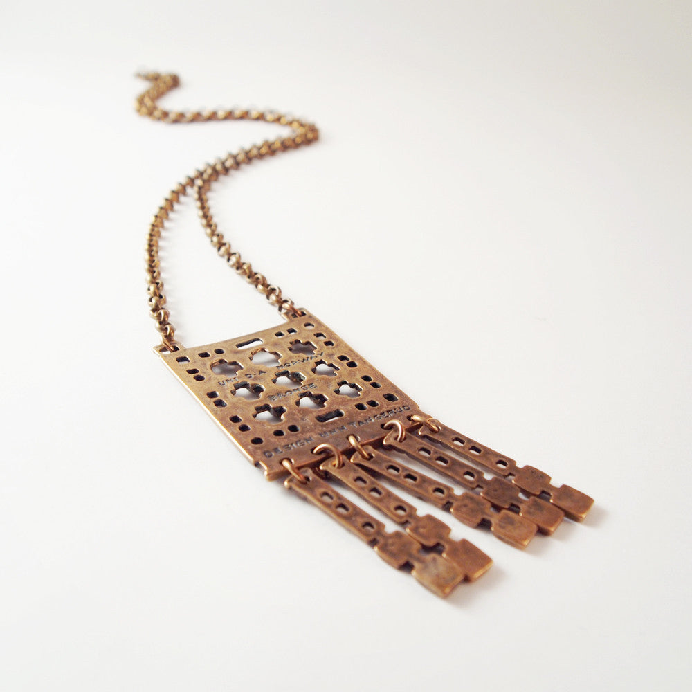 "Unn Tangerud for Uni David-Andersen ""Bronse"" Necklace - Sold - Hopea"