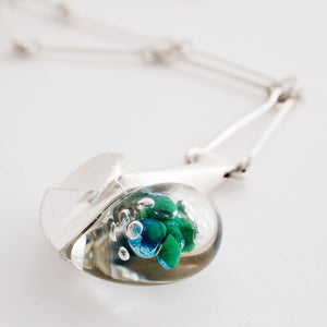 "Bjorn Weckstrom ""Space Apple"" Necklace - Sold - Hopea"