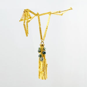 bjorn weckstrom 18k gold tree of life necklace