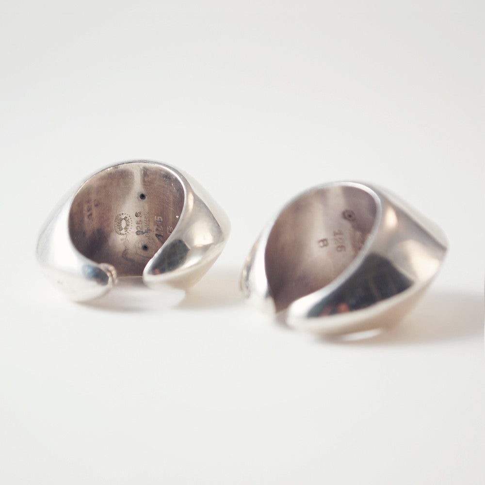 Nanna Ditzel for Georg Jensen Earrings - Sold - Hopea