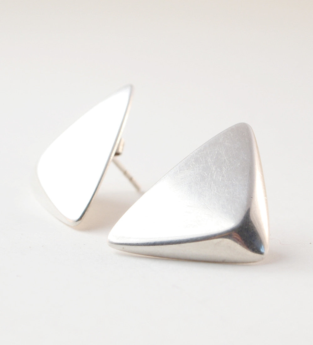 "Hans Hansen ""Kolmio"" Earrings - Sold - Hopea"