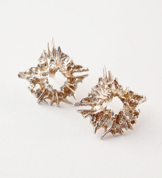 "Juhls ""Tundra"" Earrings - Sold"