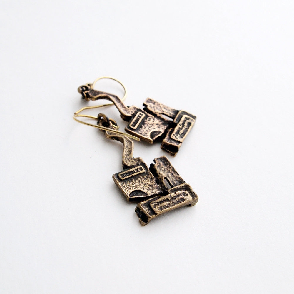 "Jorma Laine ""Mosaic"" Earrings - Sold - Hopea"