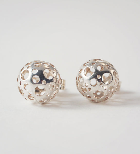 "Liisa Vitali ""Ladybird"" Earrings - Sold"