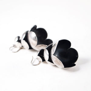 "Liisa Vitali ""Lumikukka"" Earrings - Sold - Hopea"