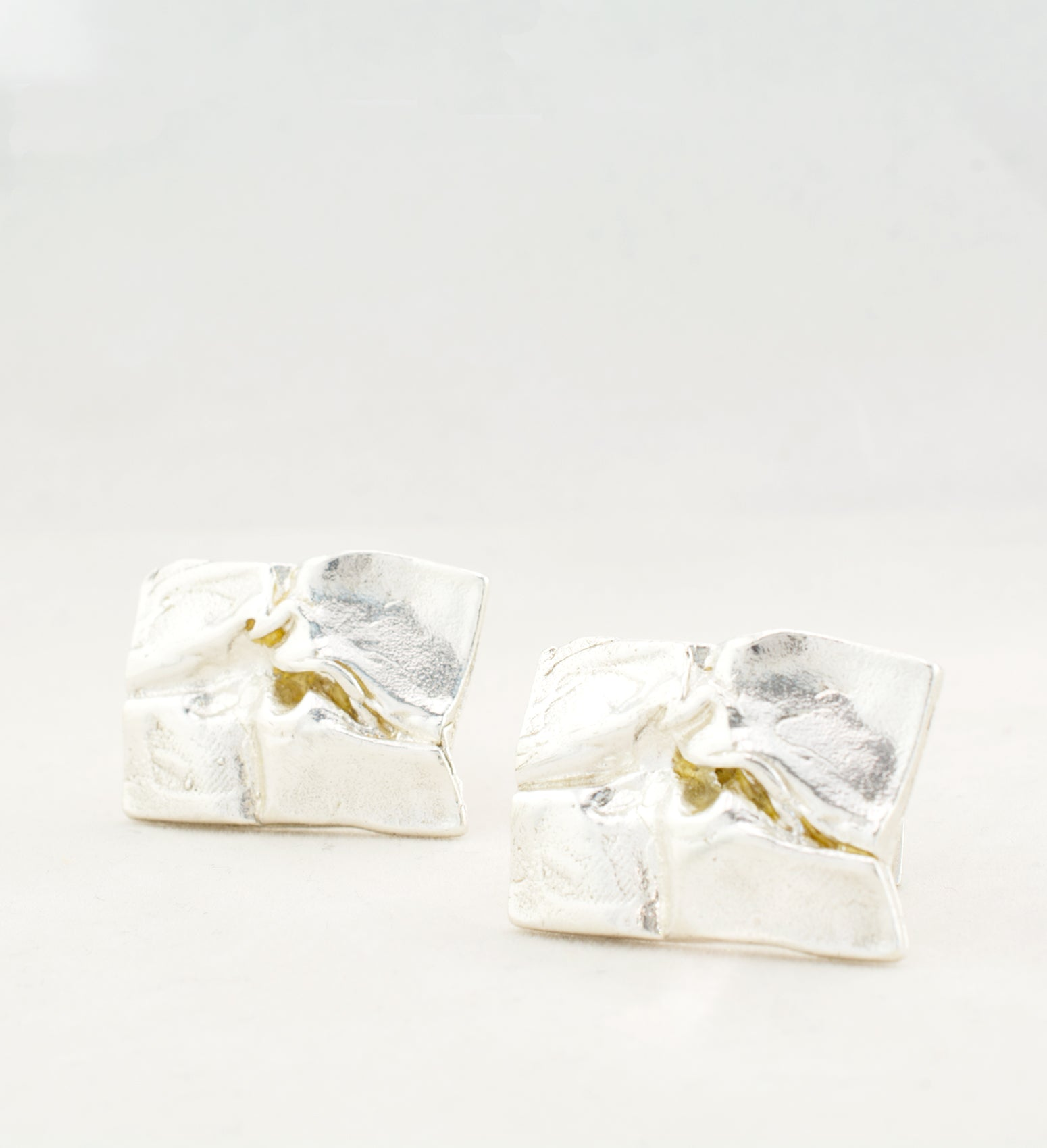 "1970s Sterling Silver ""Andomeda"" Cufflinks by Björn Weckström For Lapponia - Sold - Hopea"