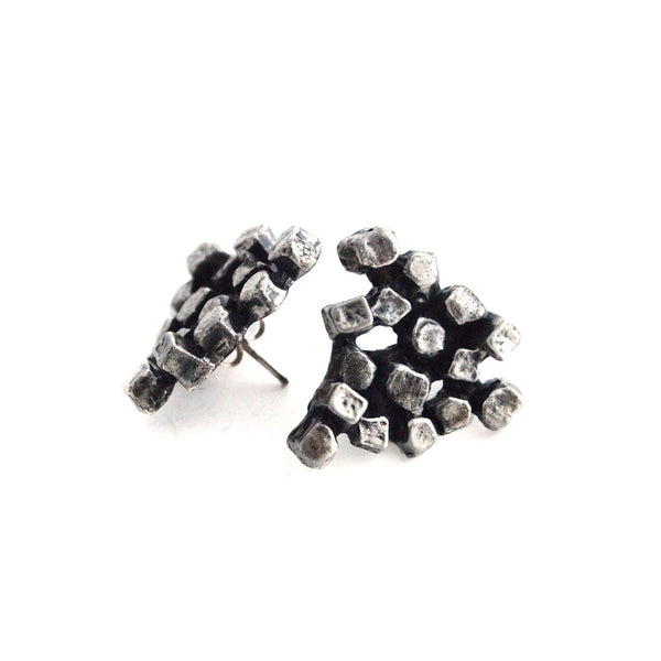 "Guy Vidal ""Cluster"" Earrings - Sold"