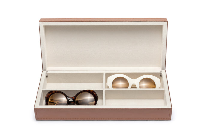 LEATHER BOX | 4 SUNGLASSES