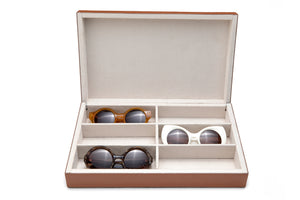 LEATHER BOX | 6 SUNGLASSES