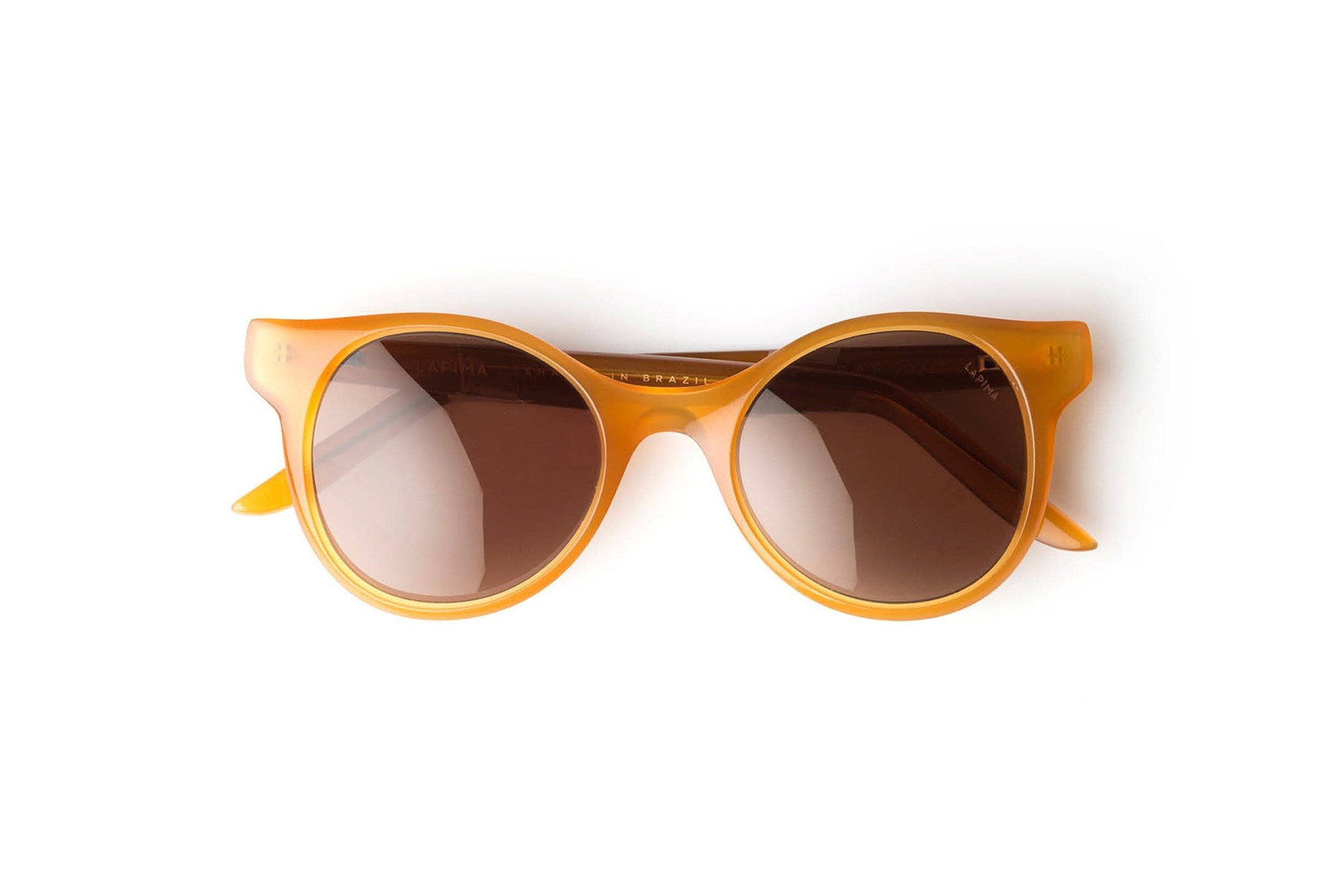 AMBER SOLID - AMBER ACETATE | SOLID BROWN LENSES