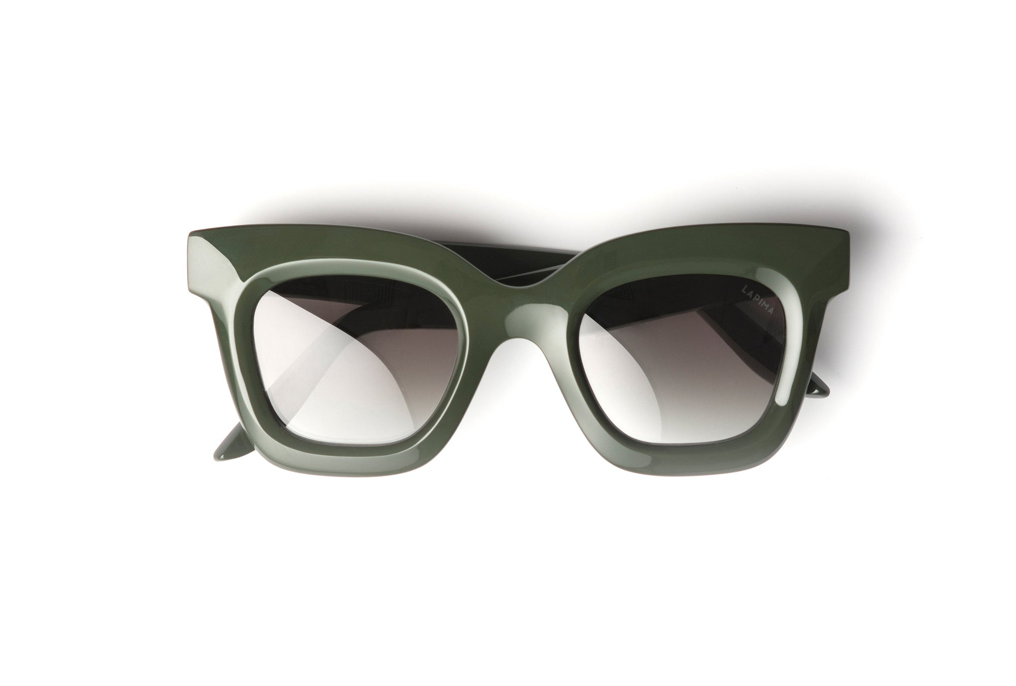 TROPICAL MILITAR - GREEN MILITAR ACETATE | GREEN GRADIENT LENSES
